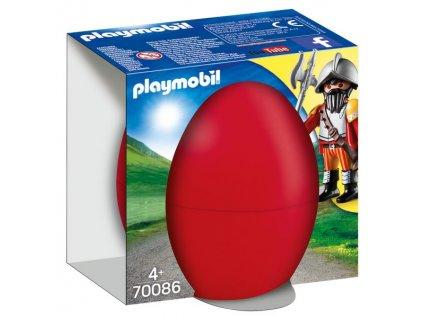 Playmobil Velikonoční vajíčko Rytíř s kanónem