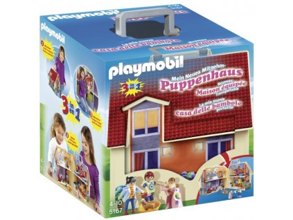 Playmobil Přenosný dům pro panenky