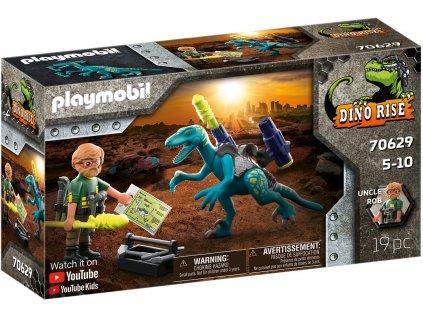 Playmobil Uncle Rob: Výzbroj do boje a Deinonychus