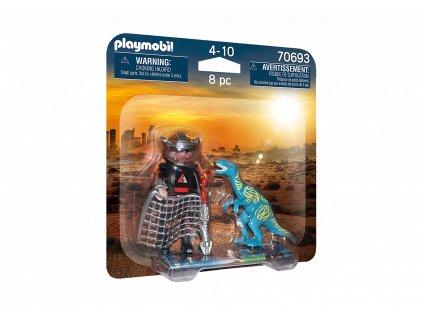 Playmobil Dino Rise DuoPack Hon na Velociraptora