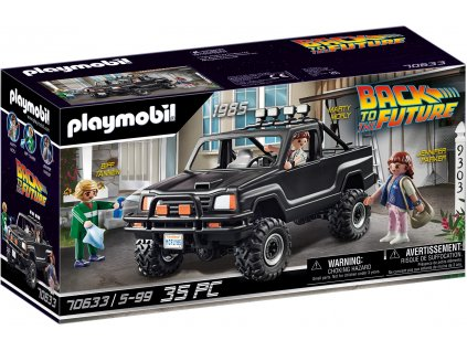 Playmobil Back to the Future Martyho pick-up