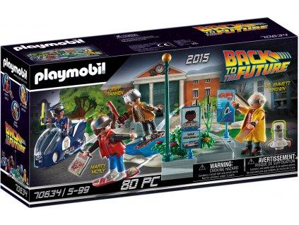 Playmobil Back to the Future II Pronásledování s hoverboardem
