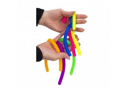 Fidget Strecky noodles - dlouhé nudle