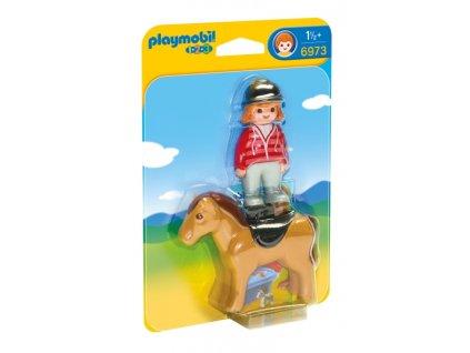 Playmobil Jezdkyně s koněm