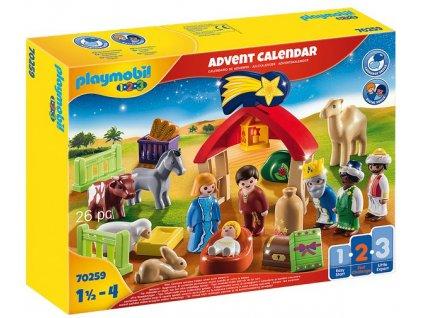 """Playmobil Adventní kalendář 1.2.3 """"Jesličky"""""""