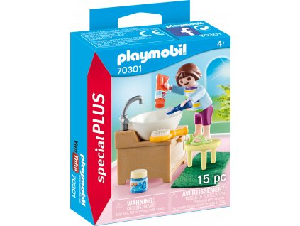 Playmobil Děvčátko při čištění zoubků
