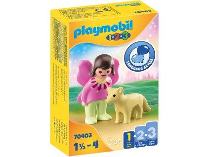 Playmobil  Vílí kamarádka s liškou