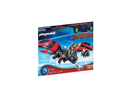 Playmobil Dragon Racing: Škyťák a Bezzubka