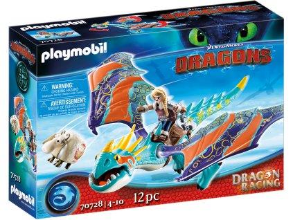 Playmobil Dragon Racing: Astrid a Buřina
