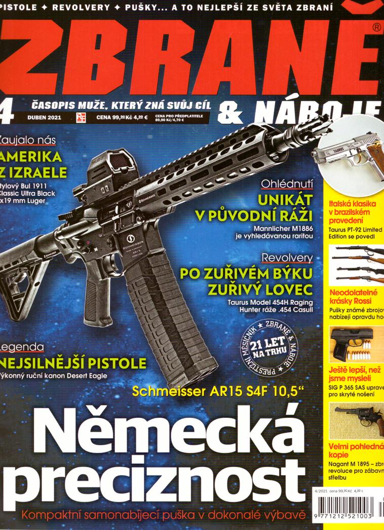 Pod drobnohledem - samonabíjecí puška Schmeisser AR15 S4F
