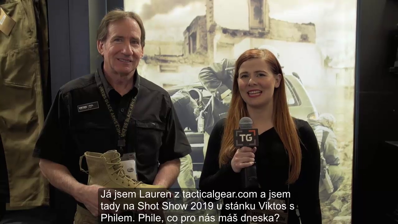 Boty Viktos Johnny Combat - video z Shot Show 2019