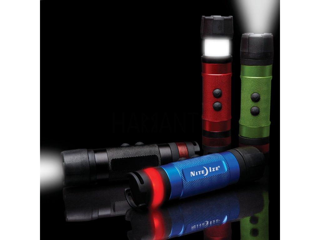Multifunkční LED svítilna Nite Ize Radiant 3-in-1