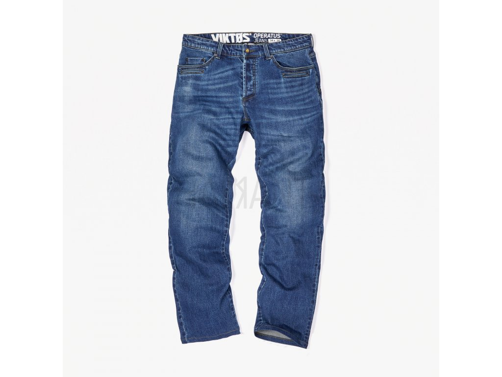 Operatus Denim Pant Blue Front Square