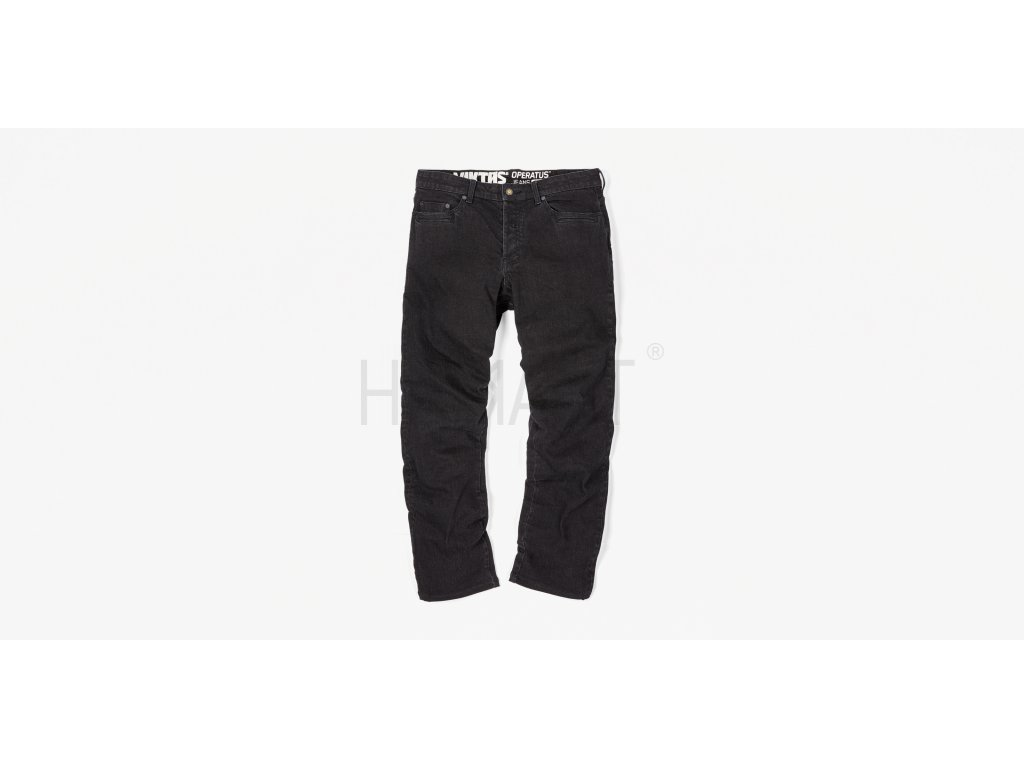 Operatus Denim Pant Black Front