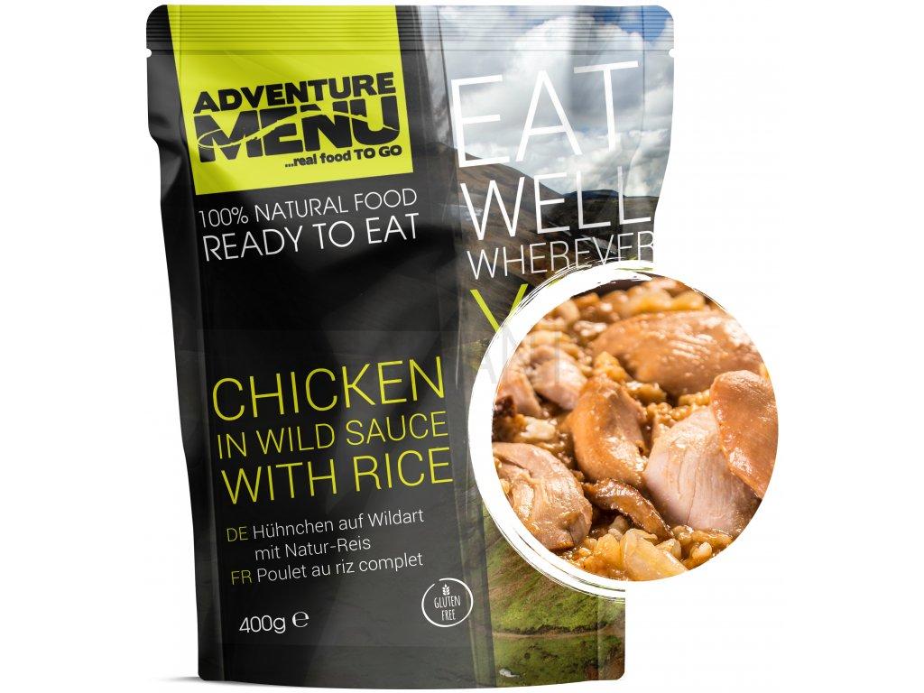 Adventure Menu - Kuřecí na divoko s rýží