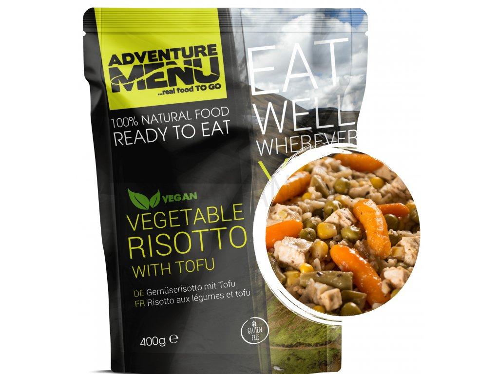 Adventure Menu - Zeleninové rizoto s tofu