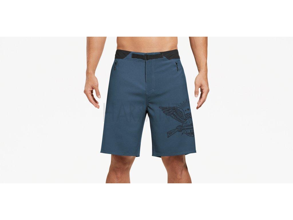 Ptxf GymSwym Longrifle Short Blue Front