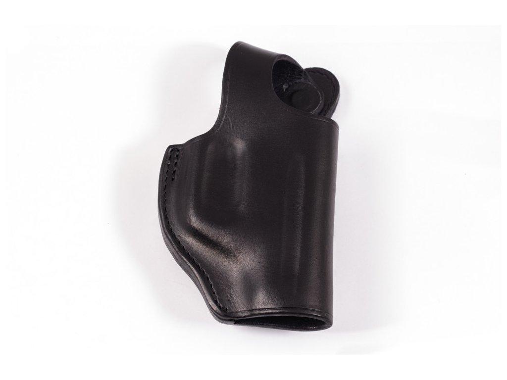 Kožené luxusní pouzdro k perkusní pistoli Detonics Gladiator 502K D2 (klip)