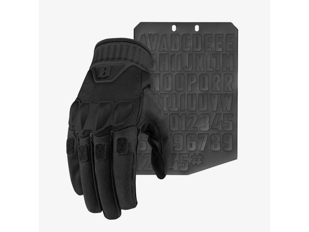 Kadre Glove Nightfjall Front Moralphabet Square