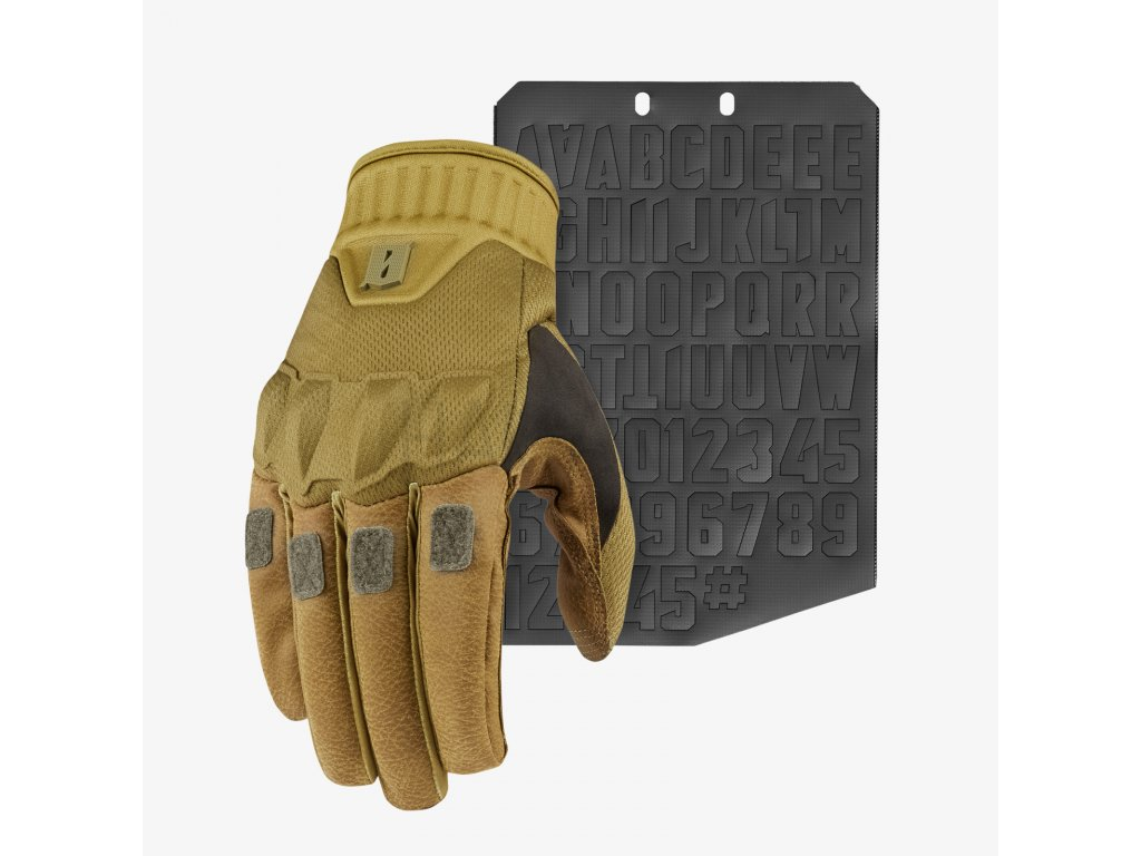 Kadre Glove Ranger Front Moralphabet Square