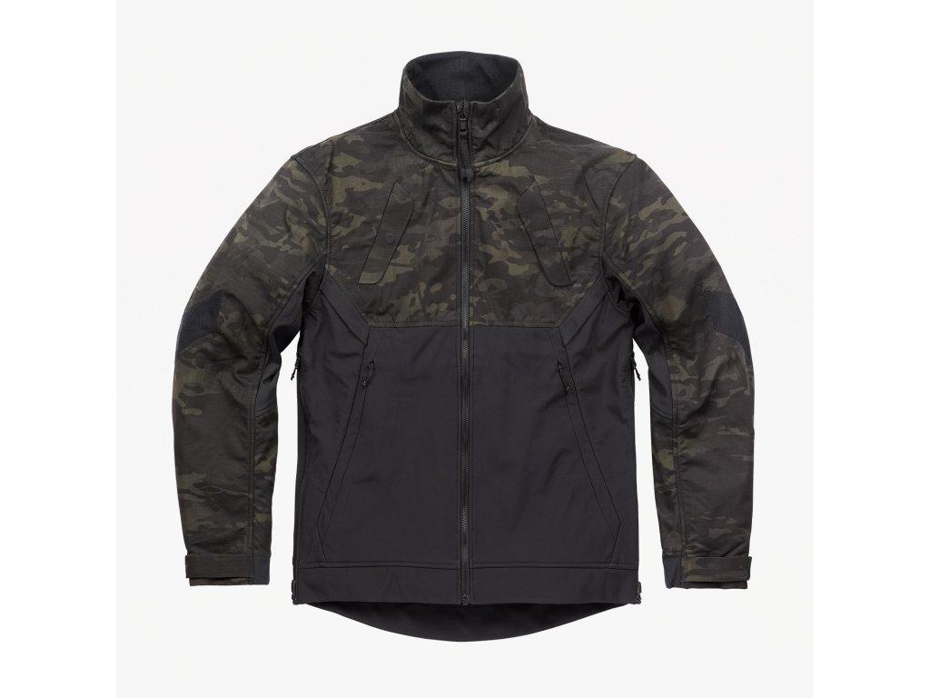 Combonova Softshell Jacket Multicam Black Front Square