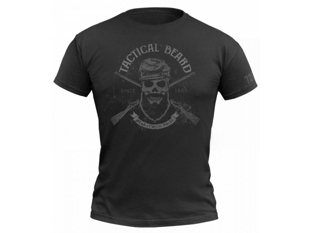 720 tactical beard black