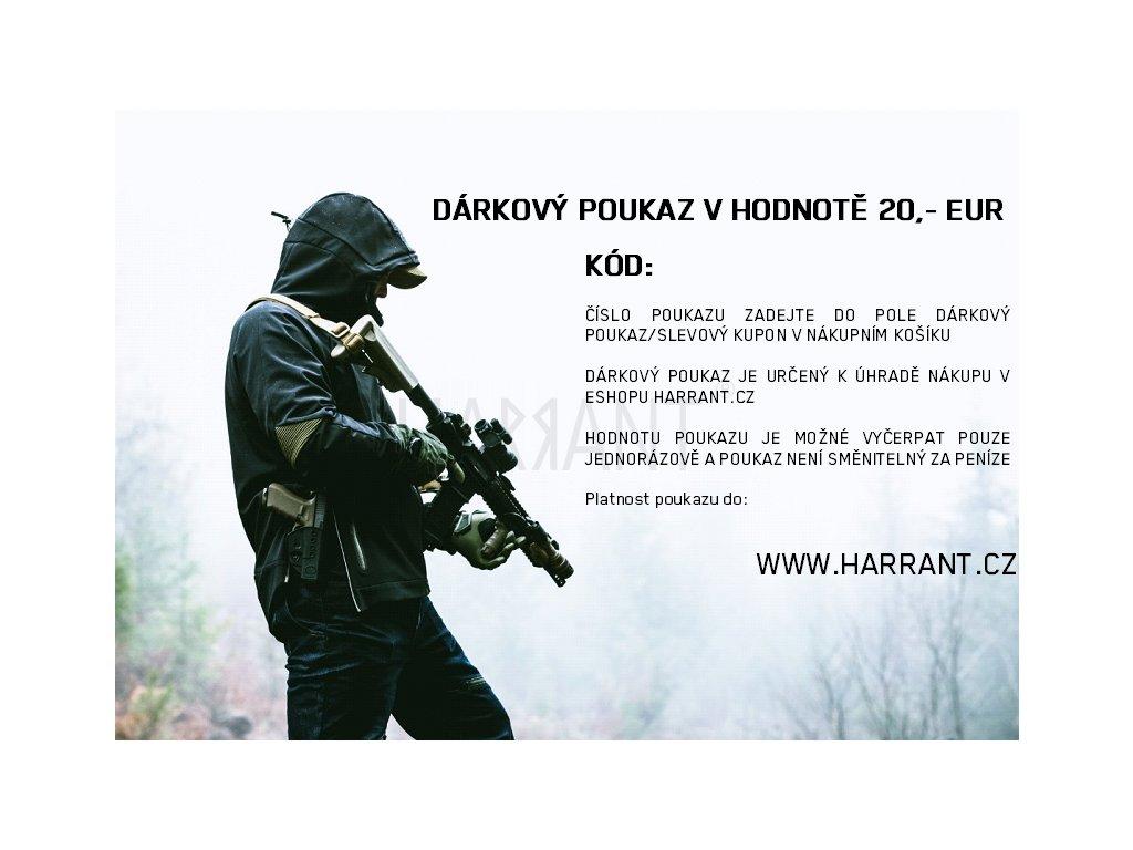 Poukaz 20 EUR nevánoční