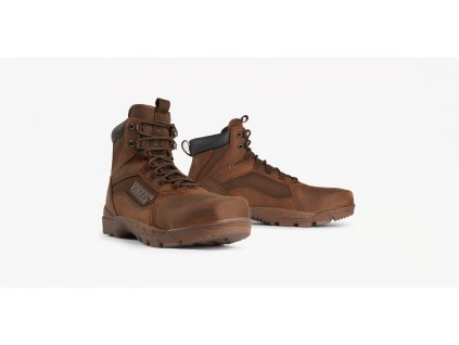Stirfe Waterproof Mid Boot Brown 2up 1600x800
