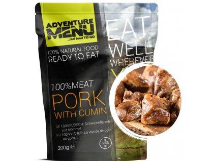 Adventure Menu - 100% Vepřové maso na kmíně