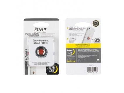 Nite Ize Steelie magnetická úchytka s lepící páskou