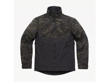 Combonova Softshell Jacket Multicam Black Front Square