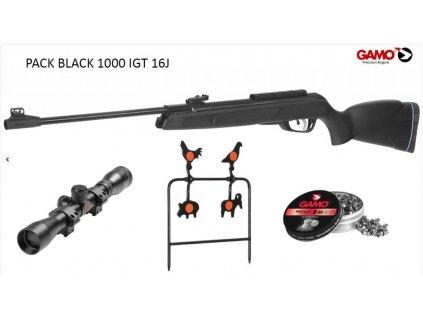 vzduchovka gamo black 1000 igt cal 45mm set