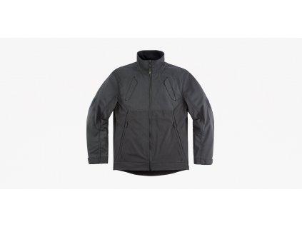 Combonova Softshell Jacket Black Front