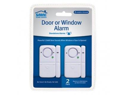 Dveřní / okenní alarm SABRE magnetický sada 2ks