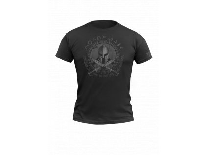 Tričko 720 Molon labe Black