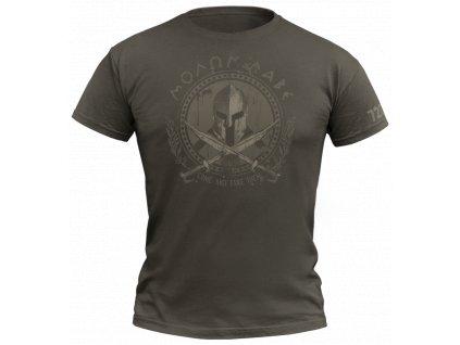 Tričko 720 Molon labe Army