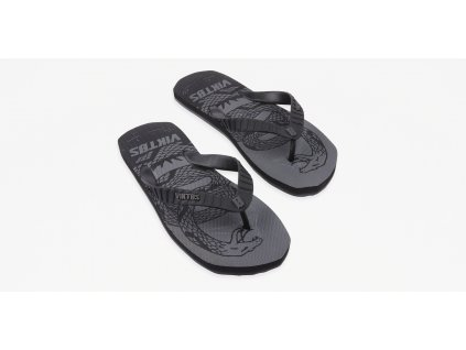 Chuville Treadnaught Sandal Nightfjall Top Three Quarter