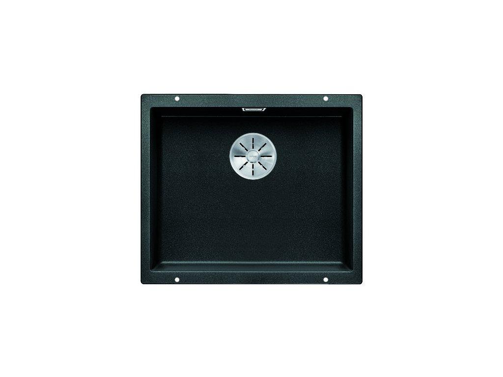 Kuchyňský granitový dřez Blanco SUBLINE 500-U antracit bez excentru  + Čistící pasta Franke Twister 125ml
