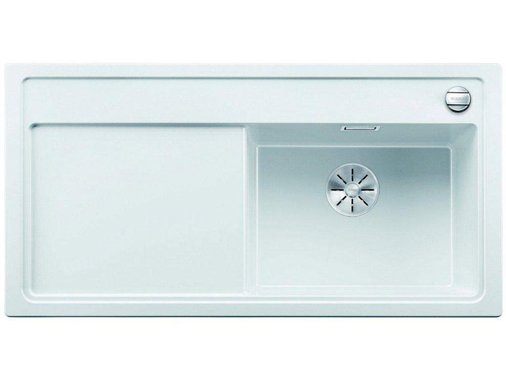 Granitový dřez Blanco ZENAR XL 6 S bílá dřez vpravo  + Čistící prostředek BLANCO ANTIKALK 30 ml