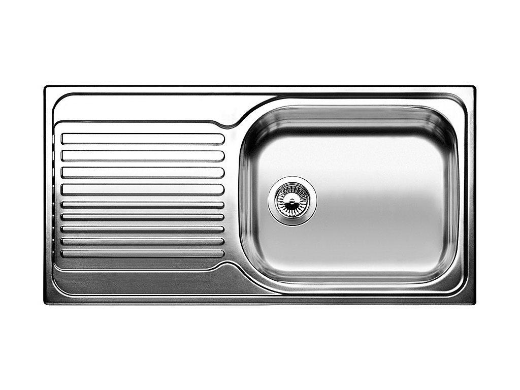Dřez Blanco TIPO XL 6 S Nerez kartáčovaný oboustranné provedení  + Čistící prostředek BLANCO ANTIKALK 30 ml