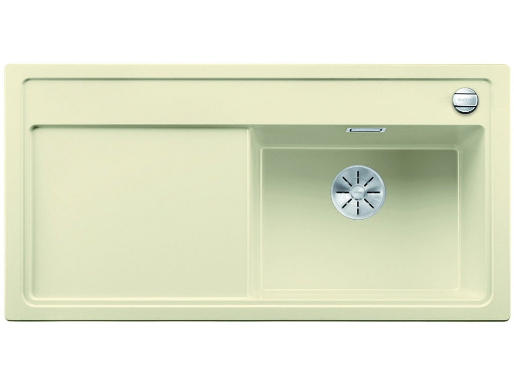 Granitový dřez Blanco ZENAR XL 6 S jasmín dřez vpravo  + Čistící prostředek BLANCO ANTIKALK 30 ml