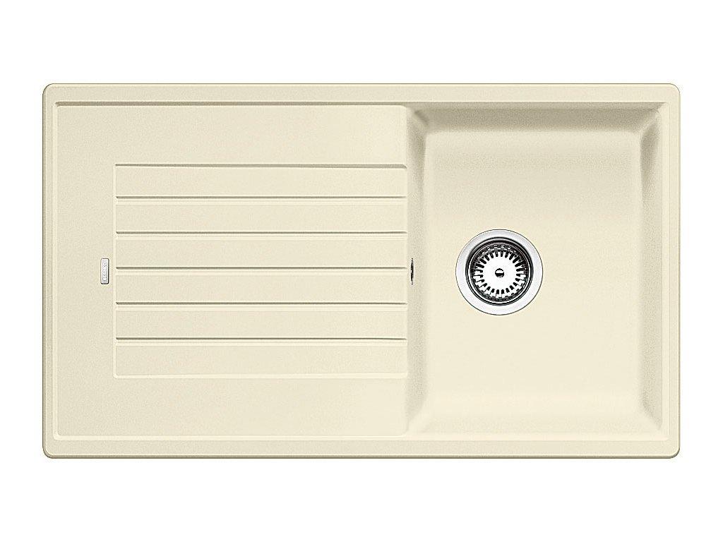 Kuchyňský granitový dřez Blanco ZIA 45 SL jasmín  + Čistící pasta Franke Twister 125ml