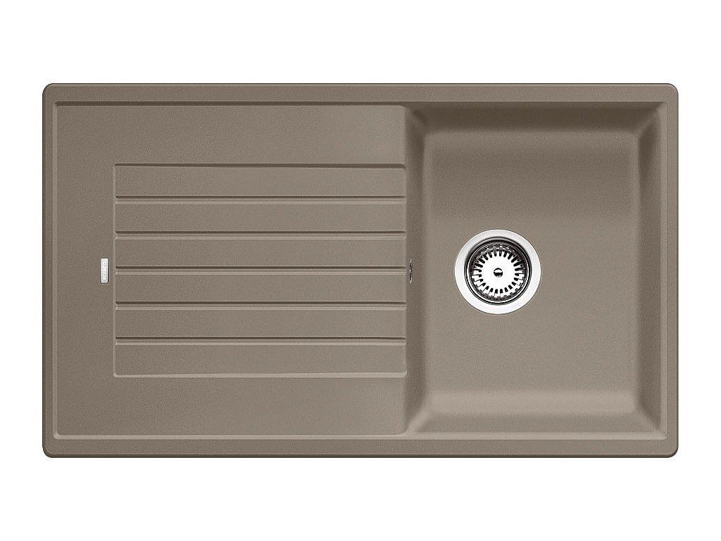 Kuchyňský granitový dřez Blanco ZIA 45 SL tartufo  + Čistící prostředek BLANCO ANTIKALK 30 ml