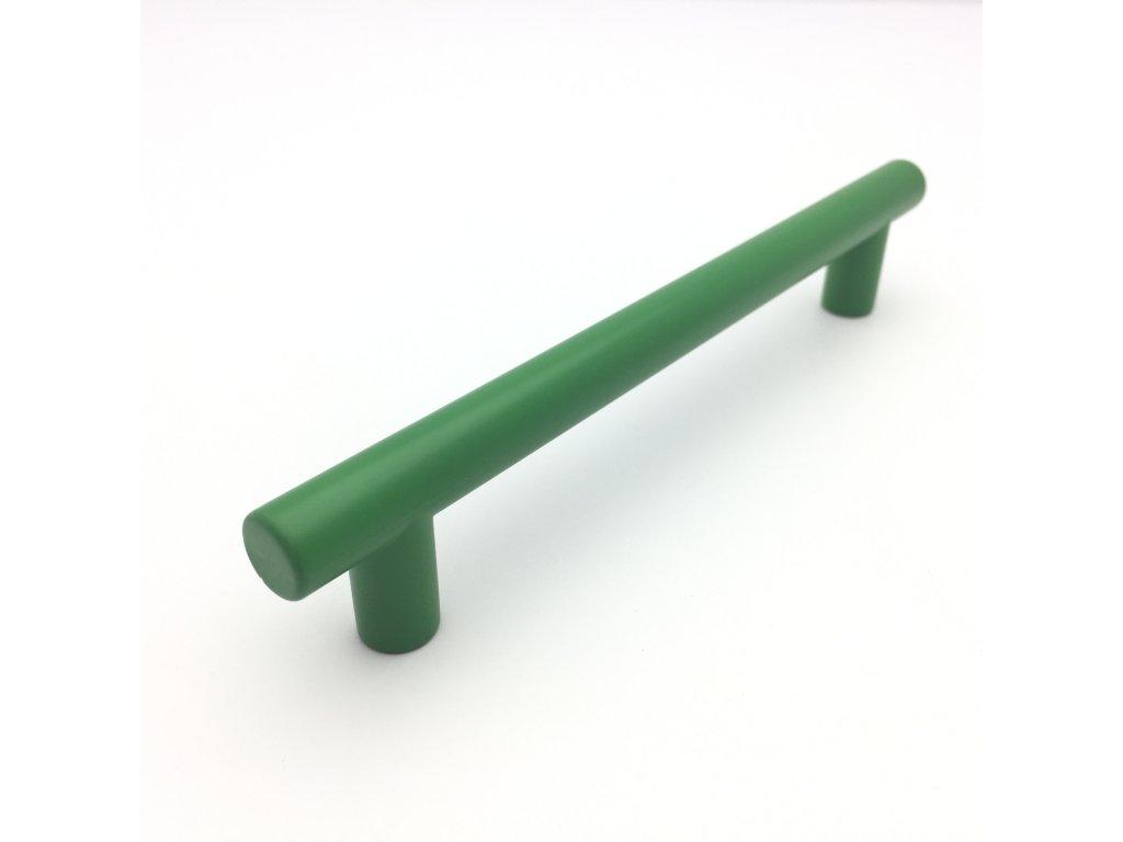 Nábytková dětská úchytka hrazda Rely zelená