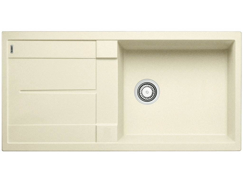Kuchyňský granitový dřez Blanco METRA XL 6 S jasmín  + Čistící prostředek BLANCO ANTIKALK 30 ml