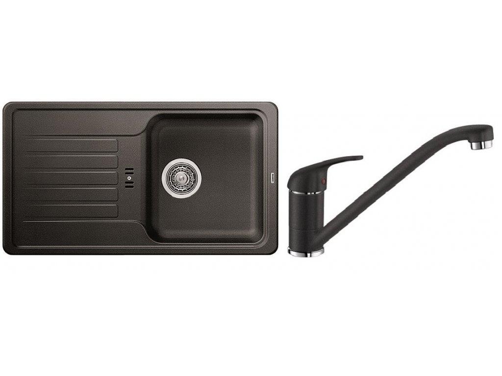 Kuchyňský set Blanco dřez FAVOS Mini antracit + baterie DARAS  + Čistící prostředek BLANCO ANTIKALK 30 ml