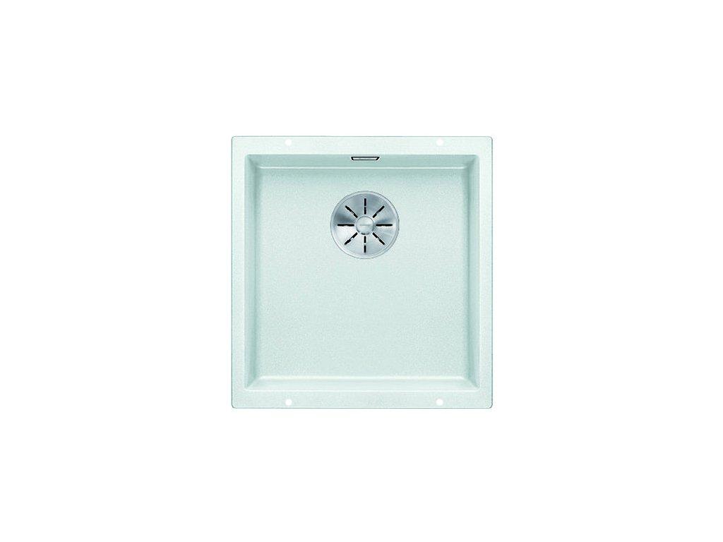 Kuchyňský granitový dřez Blanco SUBLINE 400-U bílá  + Čistící pasta Franke Twister 125ml