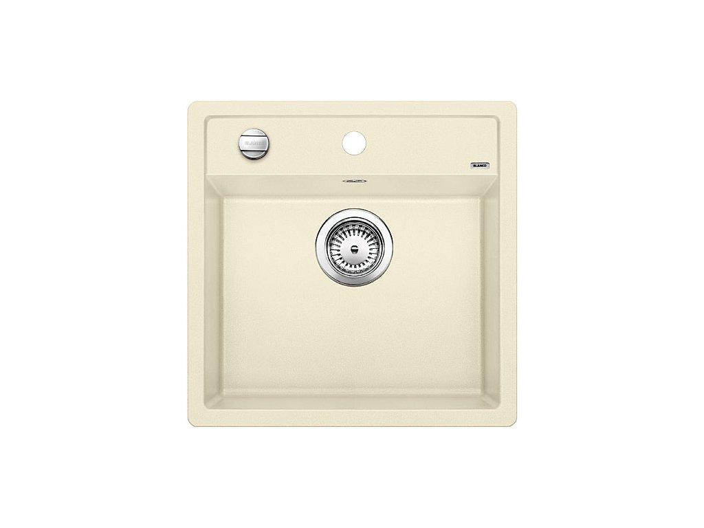 Granitový dřez Blanco DALAGO 5 jasmín s excentrem  + Čistící prostředek BLANCO ANTIKALK 30 ml