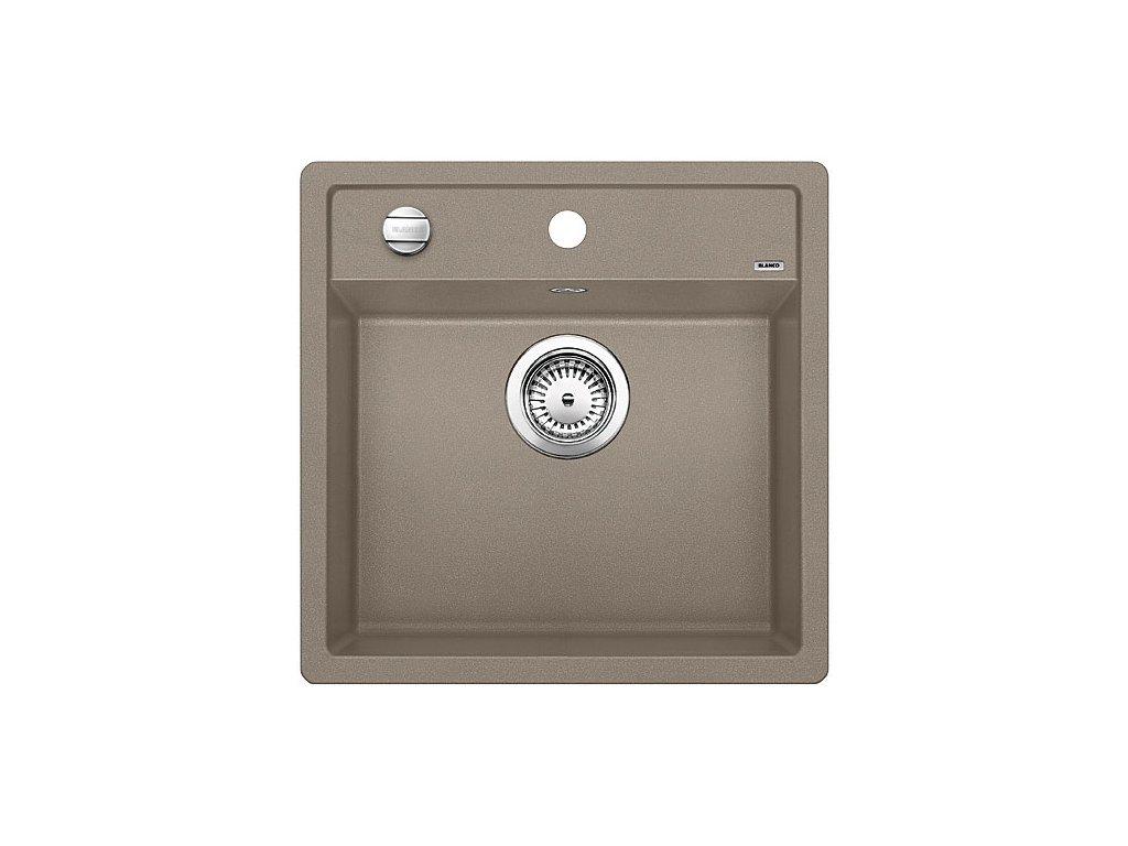 Granitový dřez Blanco DALAGO 5 tartufo s excentrem  + Čistící prostředek BLANCO ANTIKALK 30 ml