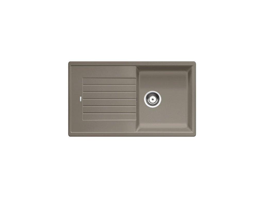 Kuchyňský granitový dřez Blanco ZIA 5 S tartufo  + Čistící prostředek BLANCO ANTIKALK 30 ml